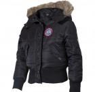 Dečija Pilotska jakna N2B crna