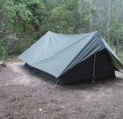 Šator Francuske vojske sa komarnikom zeleni