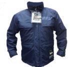 Kela jakna sa flis duxom plava
