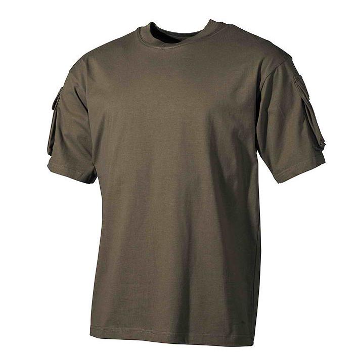 majica combat zelena
