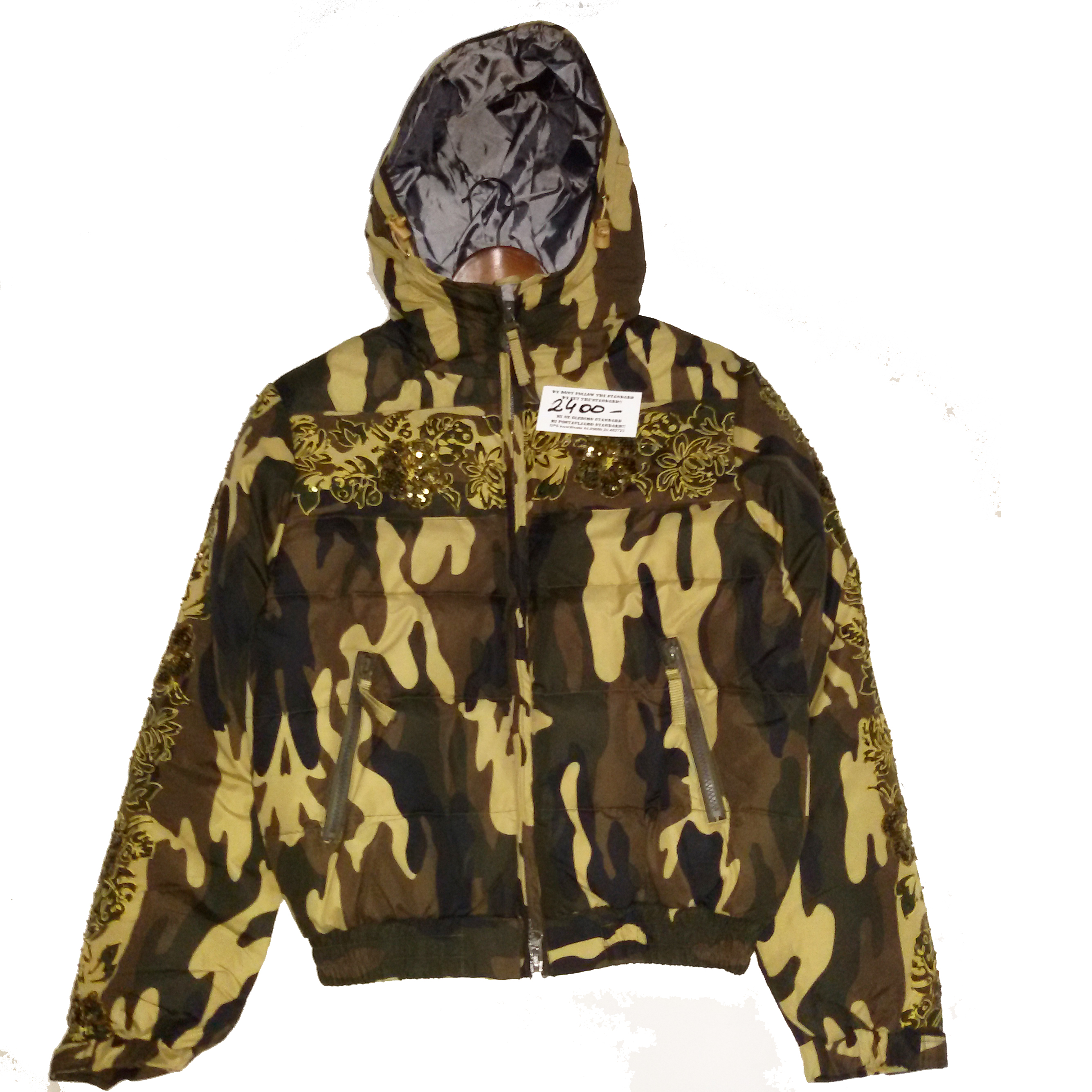 ženska kamuflažna jakna