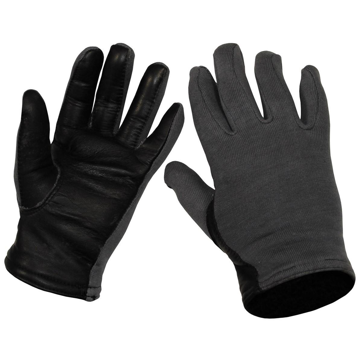 Belg gloves grey Pilot like new 615495