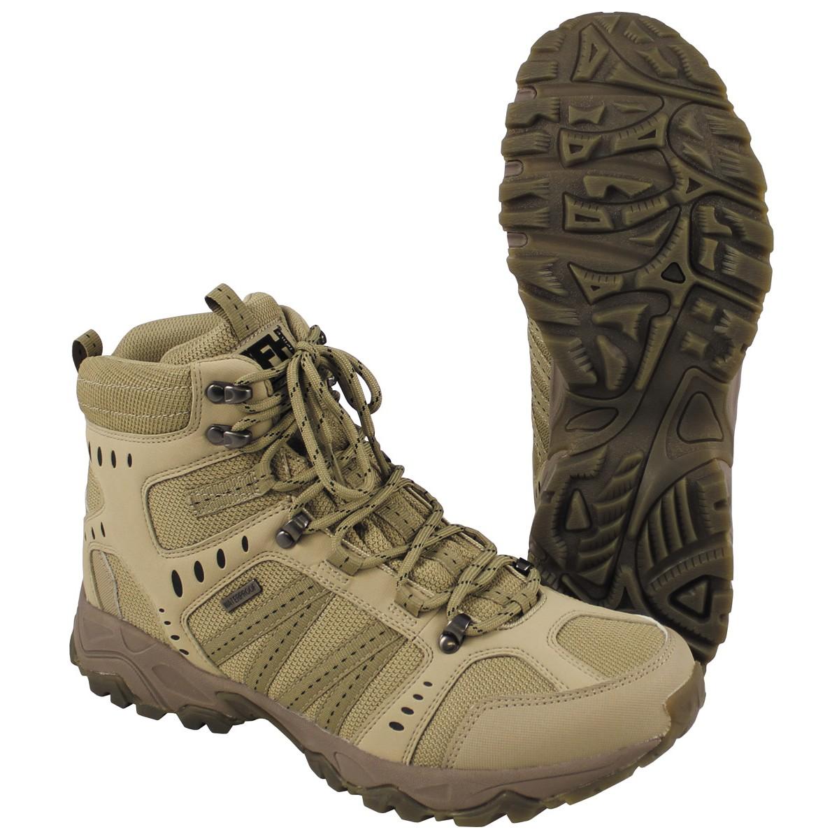 Combat Boots Tactical coyote tan 18833R