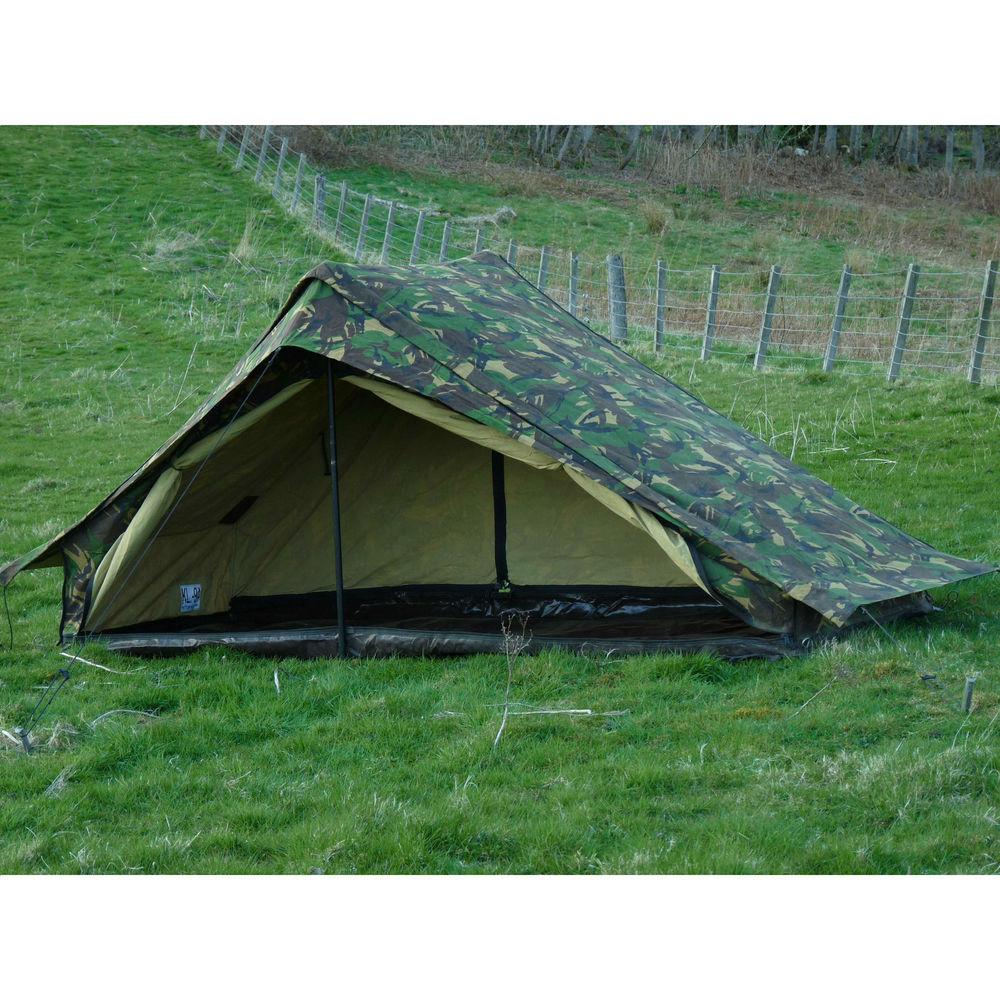 Dutch Army Canvas Tent – Woodland