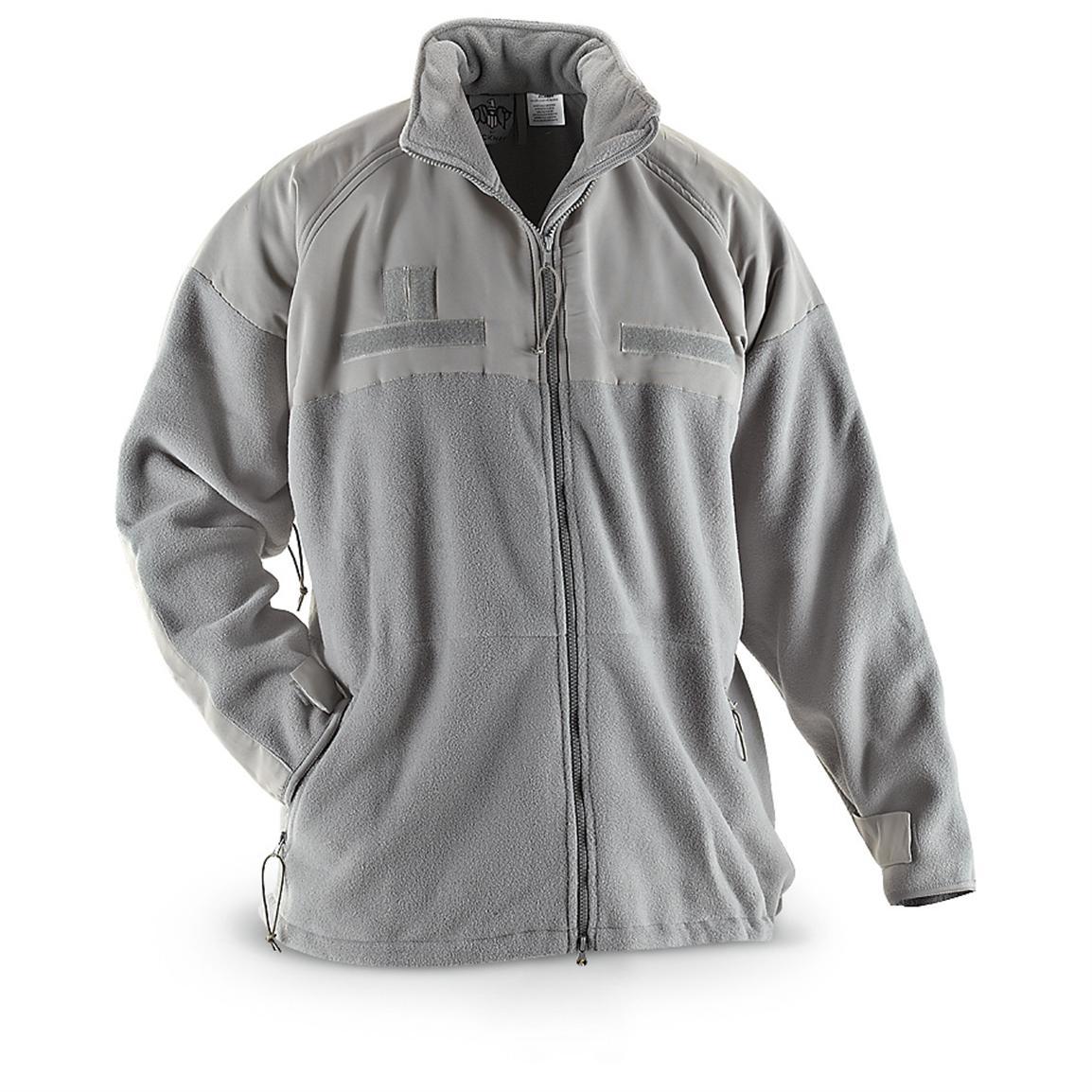 U.S. Military Surplus Polartec Fleece Jacket, New, Foliage