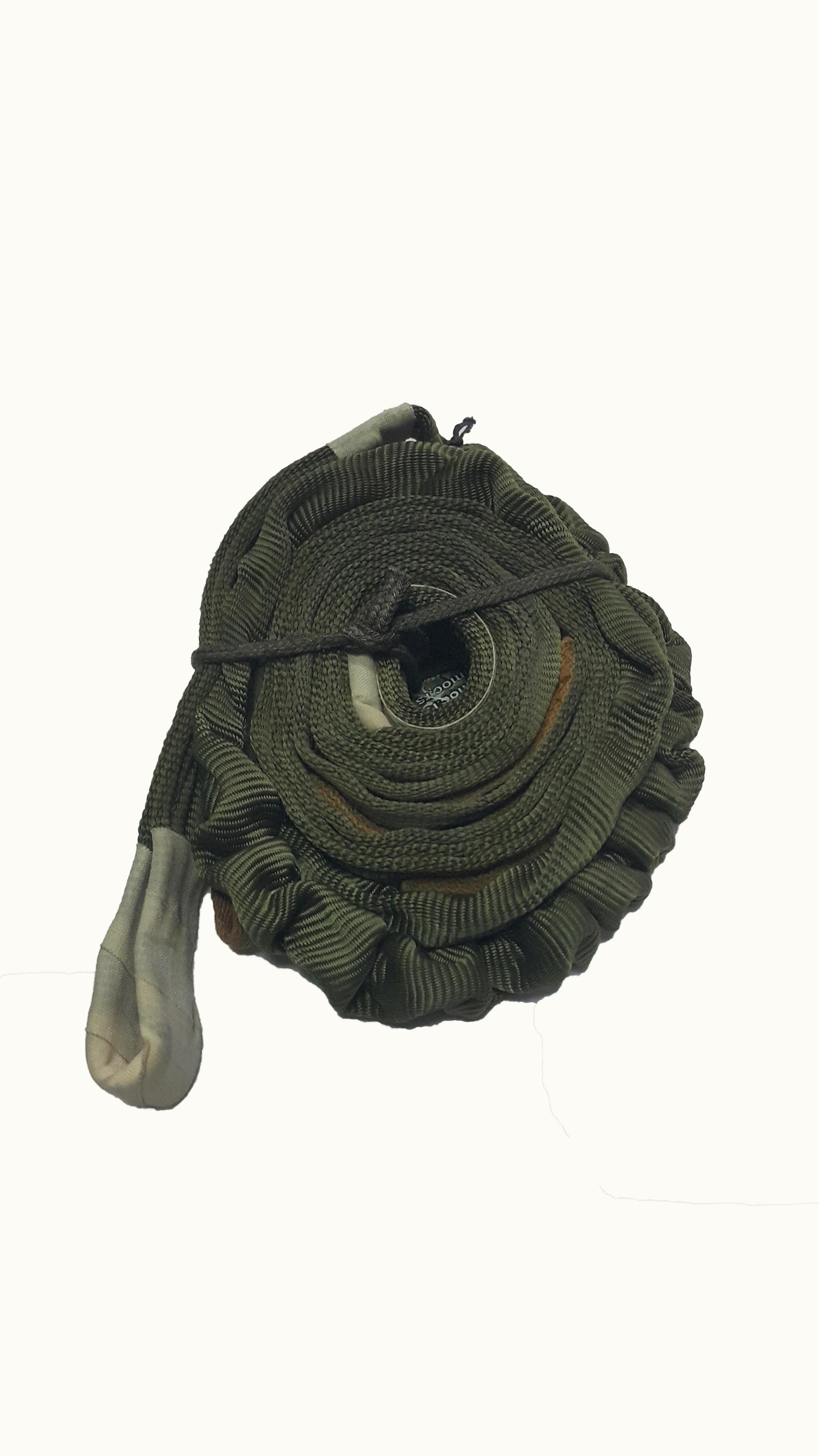 Padobranska gurtna zelena 3m