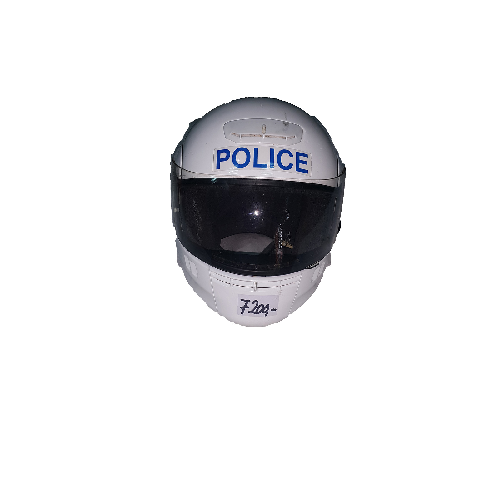 Policiska moto kaciga