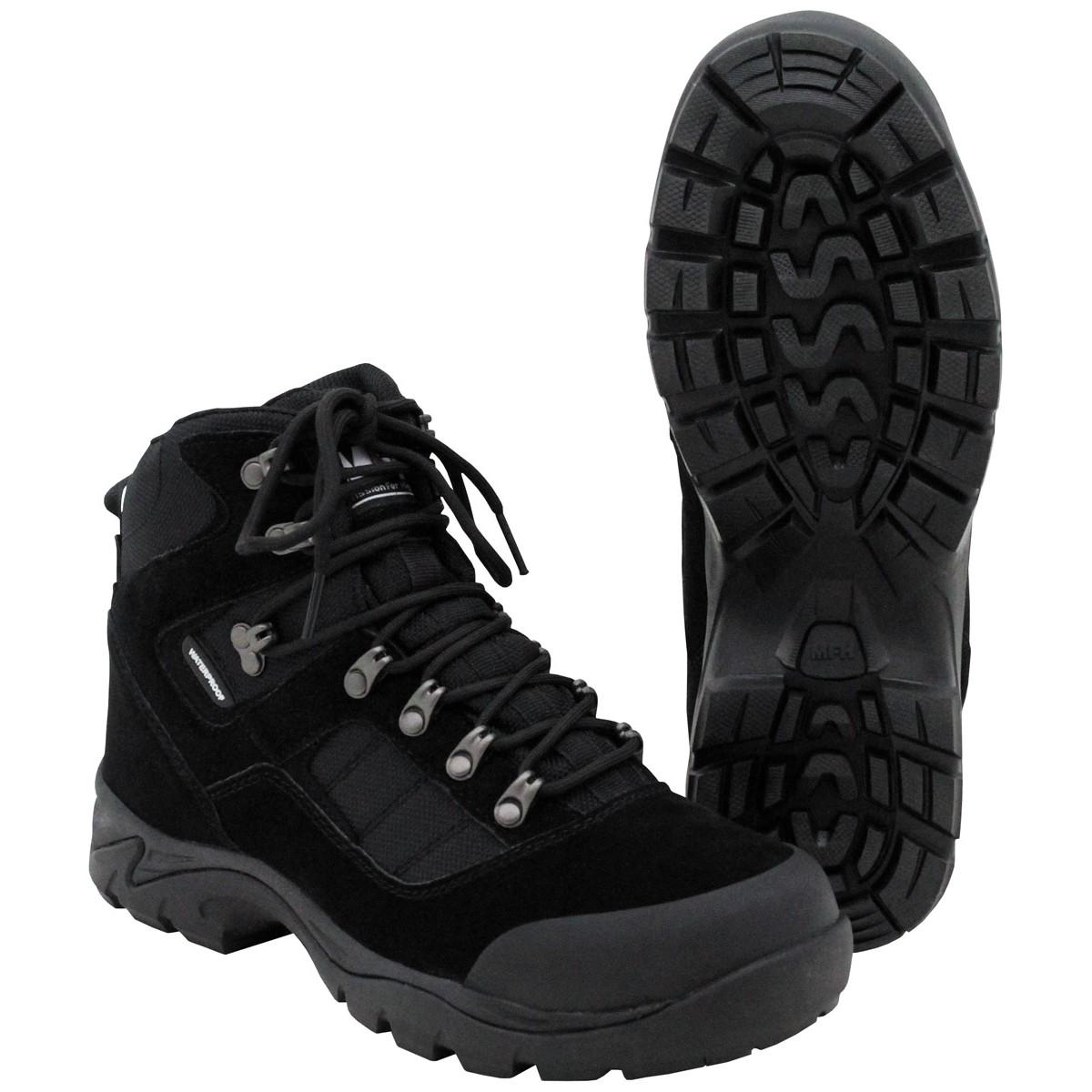 Combat Boots, Security black