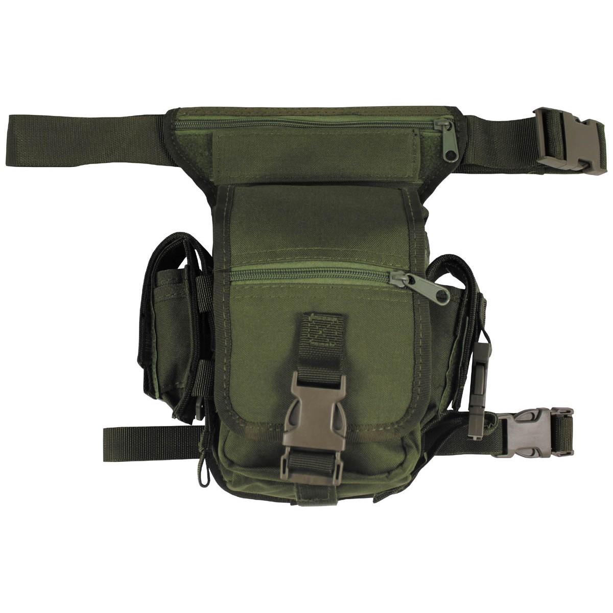 Zelena OD torbica oko struka i butine