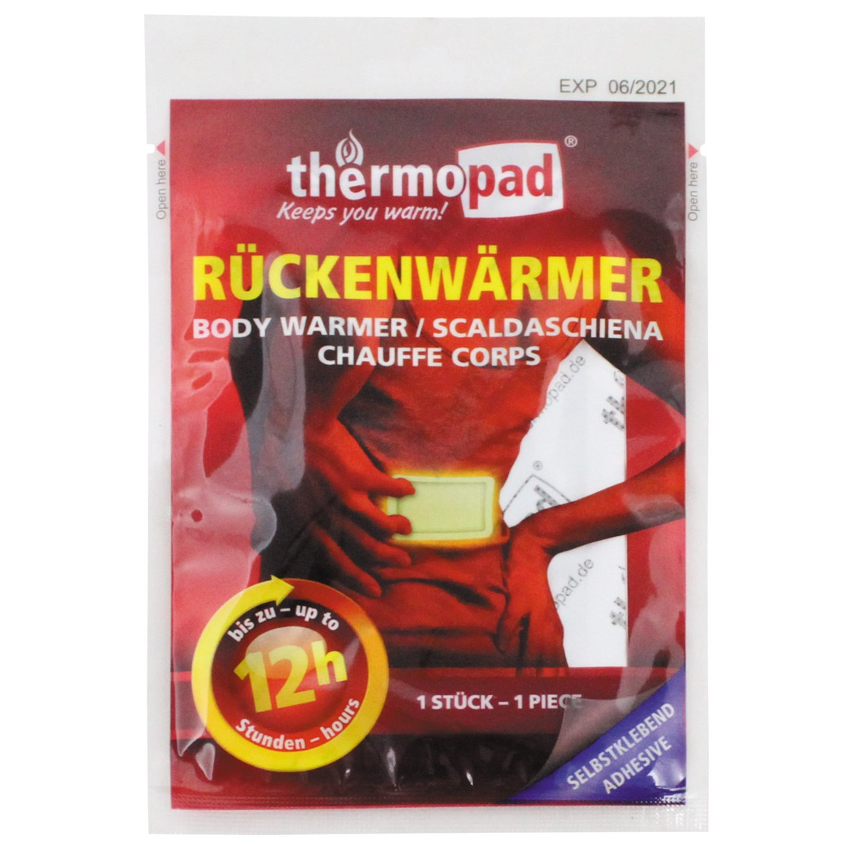 Grejač za ledja Thermopad