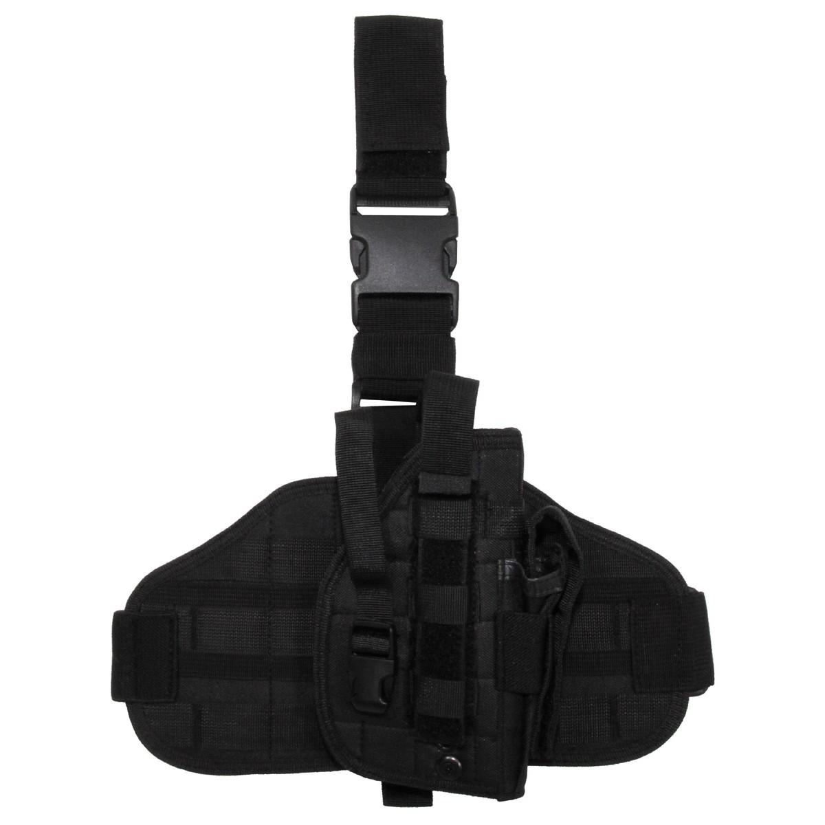 Taktički holster oko struka i butine molle desni