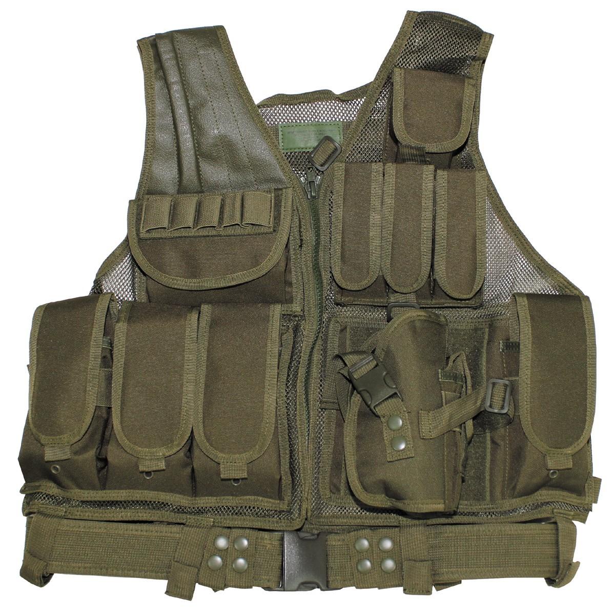 Prsluk USMC sa opasačem i holsterom OD