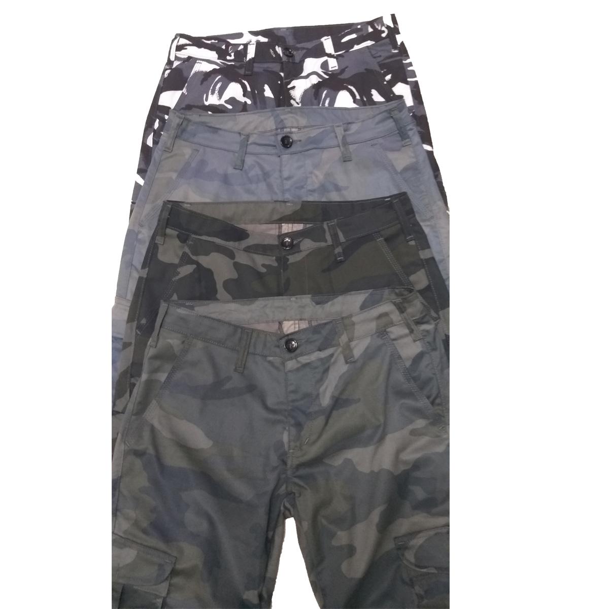 Pantalone raznih kamuflaža veličina 88