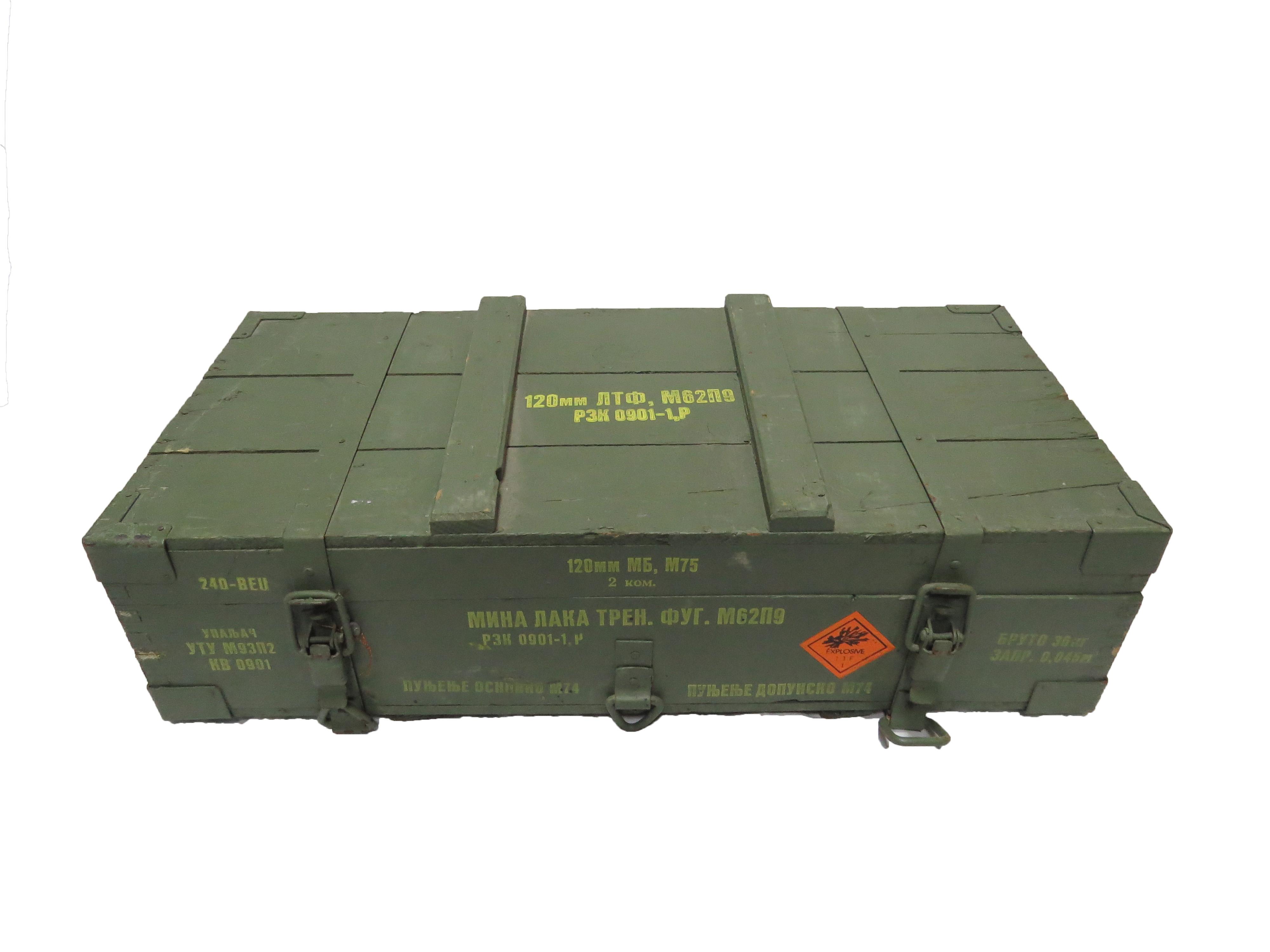Sanduk za mine M62P9 JNA