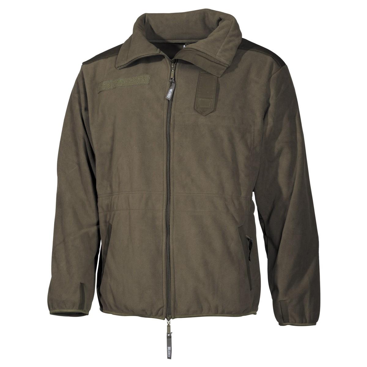 Flis jakna Alpin OD zelena
